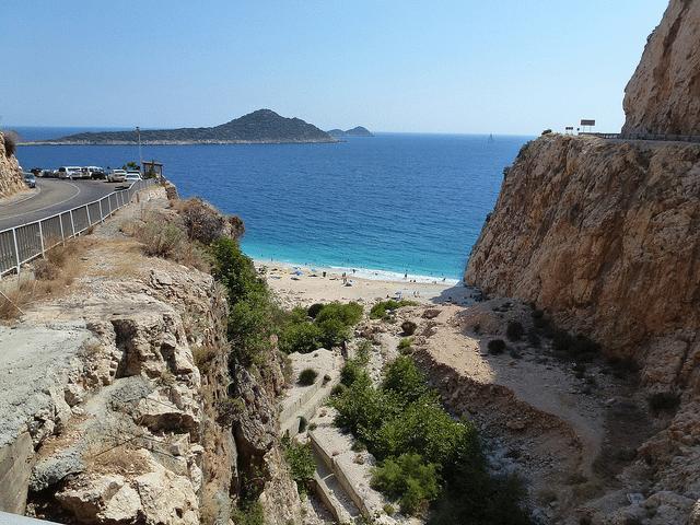 Antalya Fethiye Strand - Romuald Le Peru - CC BY-NC 2.0