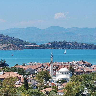 Lykien Fethiye – ein idyllisches Örtchen mit kilometerlangem Strand von Çalis