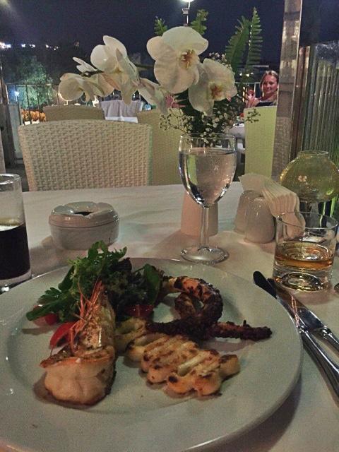 Romantisches Abendessen Restaurant Kemer - СС0