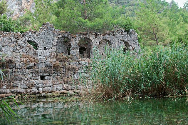 Olympos Ruinen - Vladimer Shioshvili - CC-BY-SA-2.0